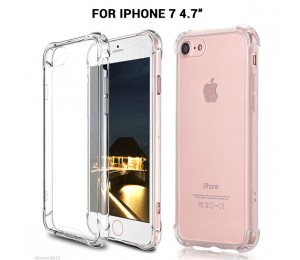 Iphone 7 Shockproof Slim Soft Bumper Hard Back Case Cover Protector Clear Color Mobvmxip7clcase