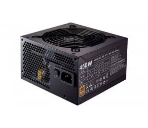 Coolermaster Mwe Series 80+ Bronze 450W Dc To Dc 120Mm Silenciofp Fan Mpx-4501-Acaab-Au