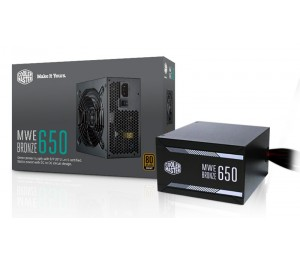Coolermaster Mwe Series 80+ Bronze 650W Dc To Dc 120Mm Silenciofp Fan Components Mpx-6501-Acaab-Au