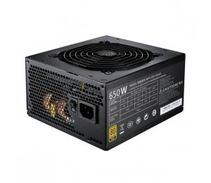 Coolermaster Mwe 80+ Gold 650w Modular Cable Compact Size With 12cm Fan Mpy-6501-afaag-au