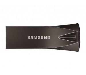 SAMSUNG 64GB BAR PLUS USB DRIVE TITAN GRAY METALLIC CHASSIS USB3.1 UP TO 200MB/S 5 YEARS WARRANTY