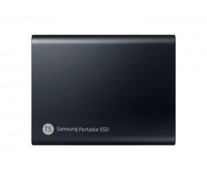Samsung Portable Ssd T5 2Tb Deep Black Usb3.1 Type-C Up To 540Mb/ S Aluminium Case Password