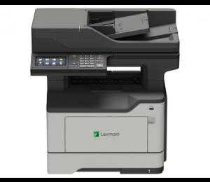 Network Ready; Print Copy Scan Fax; Duplex; 44 Ppm; 1.2 Ghz Quad-Core; 2Gb Ram; 4.3-Inch Colour Lcd Touch Screen & Keypad; 1200X1200Dpi; 1Yr 36S0854