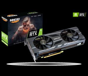 Inno3D Nvidia 2070 Super 8Gb Gddr6 Hdmi 2.0B 2X Displayport 1.4 1X Usb-C 1X Dvi-Dl N207S2-08D6X-11801167