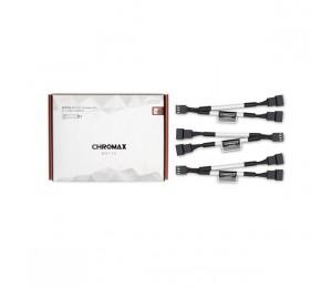 Noctua NA-SYC1 Chromax.White 11cm 4Pin PWM Fan Power Splitter Cables (3 Pack) NA-SYC1-WHITE