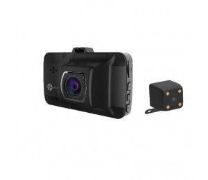 Laser Dual Car Crash Camera with Wi-Fi and GPS NAVC-817D