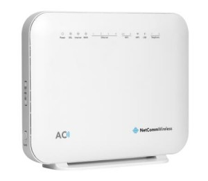 Netcomm Nf18Acv Ac1600 Wi-Fi Xdsl Modem Router With Voice - Gigabit Wan 4 X Gigabit Lan 2 X Fxs