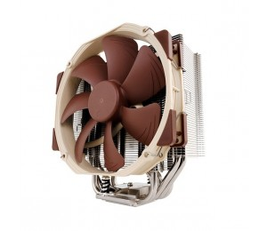 Noctua Cpu Cooler :multi Socket 140mm Fan Intel Lga2011 1155 1156 1150; Am2 3+ Fm1/ 2 Nh-u14s