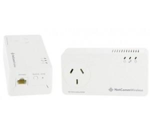 Netcomm 1.2 Gbps Powerline Kit With Gigabit Port Np1201