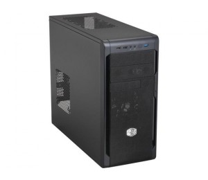 Cooler Master N300 Black Bezel Black Interior Coating 240Mm Liquid Cooler Support 1X Usb3.0+1X