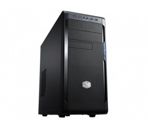 Coolermaster N300 Atx Black Bezel 1X Usb3.0 240Mm Liquid Cooler Support 420W Psu Components