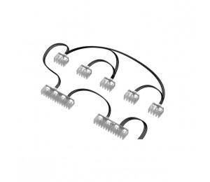 Nzxt Hue 2 Cable Comb Accessory Nzt-ah-2pcca-01