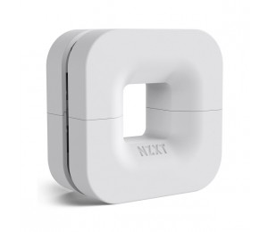 NZXT White Puck Cable Management & Headset Stand NZT-BA-PUCKR-W1