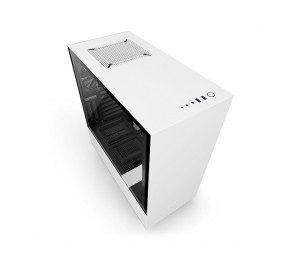 Nzxt Matte White H500i Mid Tower Chassis (smart Device) Nzt-ca-h500w-w1