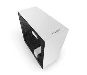 NZXT White H700i Mid Tower Chassis NZT-CA-H700W-WB