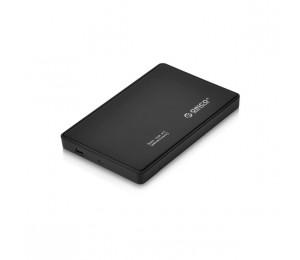 """Orico Black 2588us3 2.5"""" Usb3 External Hard Drive Enclosure Orc-2588us3-v1-bk-pro"""