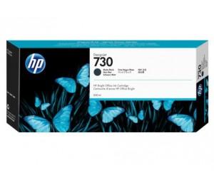 HP 730 300-ml Matte Black DesignJet Ink P2V71A
