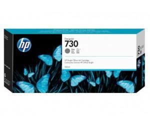 HP 730 300-ml Gray DesignJet Ink P2V72A