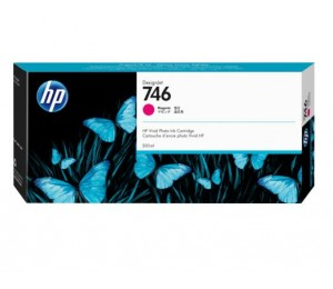 Hp 746 300-ml Magenta Ink Cartridge P2v78a