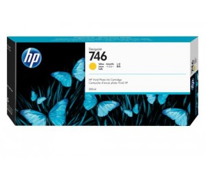 Hp 746 300-ml Yellow Ink Cartridge P2v79a