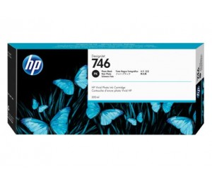 Hp 746 300-ml Photo Black Ink Cartridge P2v82a