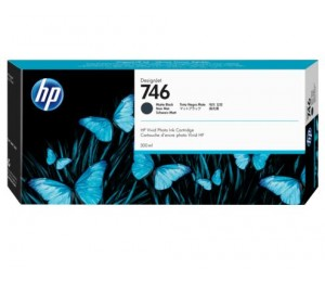 Hp 746 300-ml Matte Black Ink Cartridge P2v83a