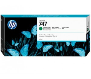 Hp 747 300-ml Chromatic Green Ink Cartridge P2v84a