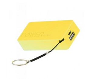 Laser 4400mah Emergency Power Bank With 3 In 1 Charging Cable Yellow Pb-4400k-yel