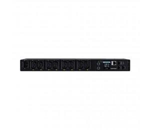 Cyberpower1u Switched Epdu 12amp Input/ Output -(pdu41004)- 8x Iec-320 C13 Outlet - 2 Yr Wty Pdu41004