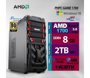 PHPC Gaming 2700 8Gb Ram 2Tb Hdd Phpcsysgame2700
