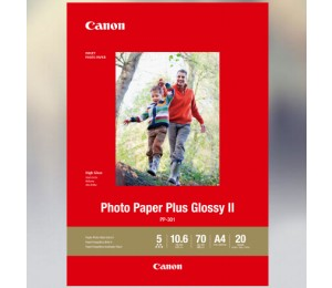 CANON PP301A4 20 SHEETS A4 265 GSM PHOTO PAPER PLUS GLOSSY II PP301A4