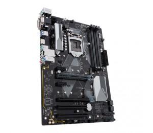 Asus Intel Lga-1151 Atx Motherboard With Led Lighting Ddr4 2666Mhz Dual M.2 Intel Optane Memory