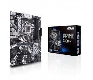 Asus Prime-z390-p Lga 1151 Atx Motherboard - Z390 Chipset - 4x Dimm Ddr4 Up To 64gb - 4x Sata