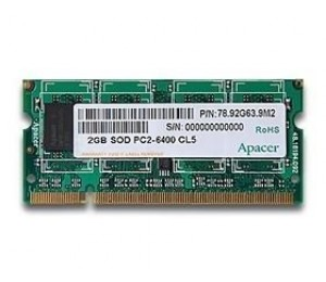 Apacer Ddr2 Sodimm Pc6400 1gb 800mhz 128x8 Cl6
