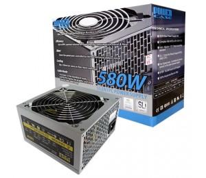 Powercase 580w 120mm Silent Fan Power Supply Retail Psupow580w12ret