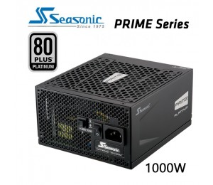 SEASONIC Prime 1000w 80 plus Platinum SSR-1000PD Active PFC F3 PSU PSUSEA1000PD