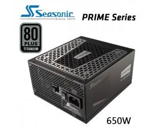 SEASONIC Prime 650w 80 plus Titanium SSR-650TD Active PFC F3 PSU PSUSEA650T
