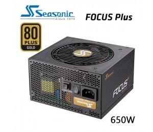 SEASONIC SSR-650FX FOCUS PLUS 650W 80 + GOLD Power Supply PSUSEAFOCUS650FX