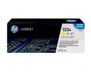 HP Q3972A YELLOW TONER CARTRIDGE FOR CLJ2550