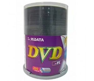 Ritek 16x Dvd-r: 4.7gb Spindle 100pc Printable R16xdvd-r-100