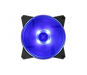 Cooler Master MasterFan Lite MF120L Blue LED, Silent, Balanced air flow and air pressure (R4-