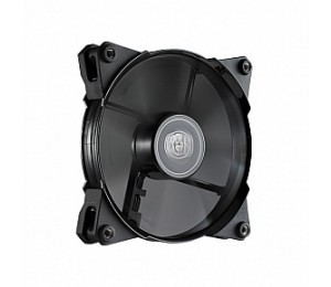 COOLER MASTER 120MM WHITE LED CASE FAN, PWM, 800-2000RPMPOM BEARING (160,000 HRS MTBF, IP54 DUST AND