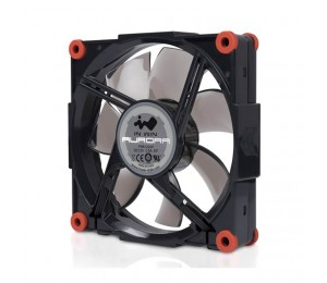 In Win Inwin Aurora Rgb Black/red Fan Single Pack For Add-on Only Daisy Chained Cable Rgbfan-blkred-1pk
