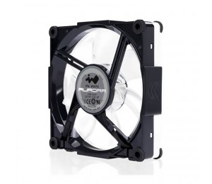 In Win Inwin Aurora Rgb Black/white Fan Single Pack For Add-on Only Daisy Chained Cable Rgbfan-blkwte-1pk