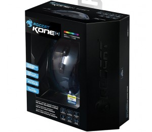 Roccat Kone+ Usb Wired Laser 6000 Dpi Gaming Mouse,  8 Buttons, Tilt Wheel