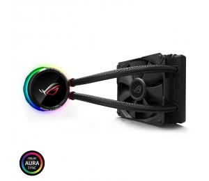 Asus Rog-Ryuo-120 Aio Oled Cpu Cooler - 120Mm Fan (800 2500 Rpm) Fan Static Pressure: 5.0 Mmh2O