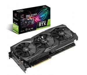 Asus Geforce Rtx 2070 Advanced A8g Gddr6 Hdmi Dp 1.4 Usb Type-c Graphic Card Rog-strix-rtx2070-a8g-gam