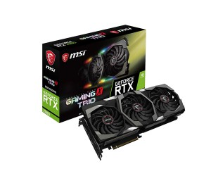 Msi Geforce Rtx 2080 Gaming X Trio 8gb Ddr6 Rgb Nvidia Graphic Card Mystic Tri-frozr Thermal Boost
