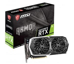 Msi Geforce Rtx 2070 Armor 8g Oc Ddr6 Nvidia Graphic Card Rgb Mystic Armor Thermal Boost Clock