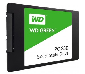 "Western Digital 240GB 2.5"" Green SSD 7MM, 540/ 430 R/ W, SATA 6GB. WDS240G1G0A"